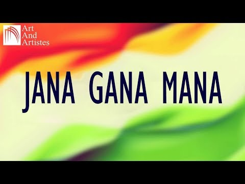 Jana Gana Mana | National Anthem | Republic Day Special | Art And Artistes