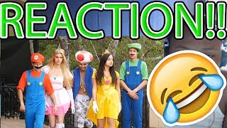 Super Mario Run | Lele Pons, Rudy Mancuso & Juanpa Zurita!! REACTION!!