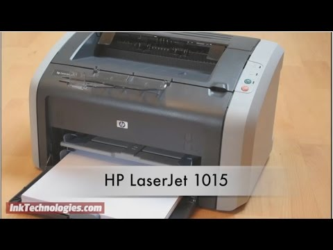 HP LaserJet 1015 Instructional Video - YouTube