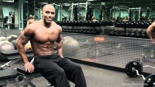 TRICEPS muscular development workout with Evan Shy