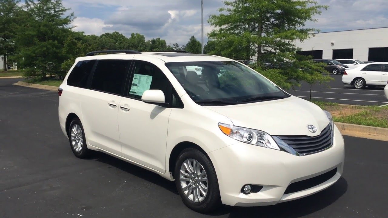 alice 39 s 2016 toyota sienna xle premium by gerald youtube. Black Bedroom Furniture Sets. Home Design Ideas