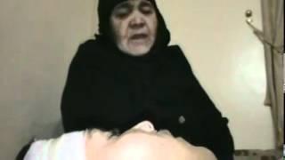 حمص أم ترثي ابنها الشهيد ودعوات تبكي الحجر