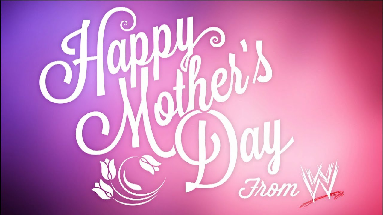 Wwe superstars & divas wish their mothers a very happy mothers day