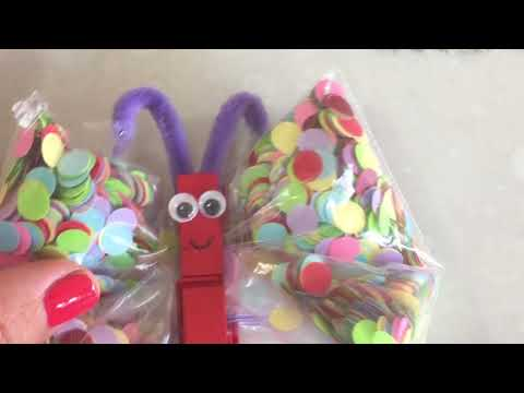 How to Make a Snack Bag Butterfly