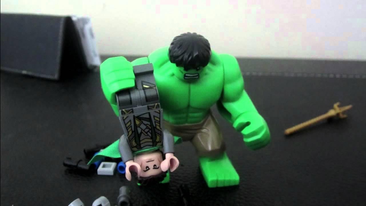 Hulk vs Loki LEGO - YouTube