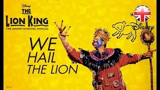 LION KING MUSICAL | Circle of Life Sing-along | Official Disney UK
