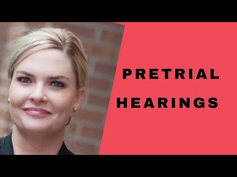 Pretrial Hearings [2019]