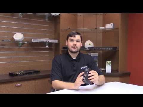 Planet IPOE-E174 Industrial PoE Extender Unboxing