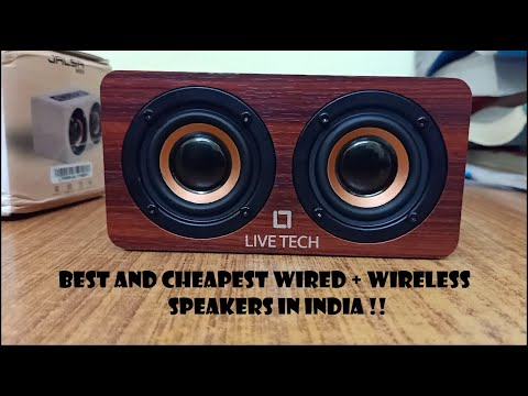 Live Tech Jalsa 10 W Bluetooth Speakers | Unboxing | Sound Test