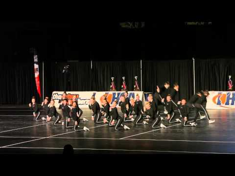 GBN Poms 2014 State Championship Performance