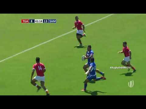 World Rugby Americas Pacific Challenge: Samoa A score brilliant try