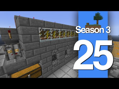 Skyblock S3 LP - E25 Pumpkinly Automated