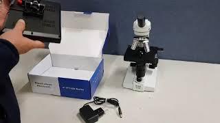 현미경 모니터 사용법