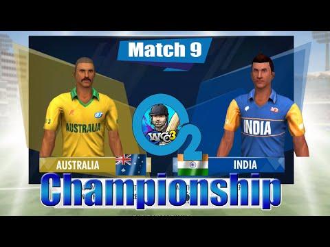 #9 Australia Vs India - O2 Championship 2 Overs World Cricket Championship 3 Custom Tournament