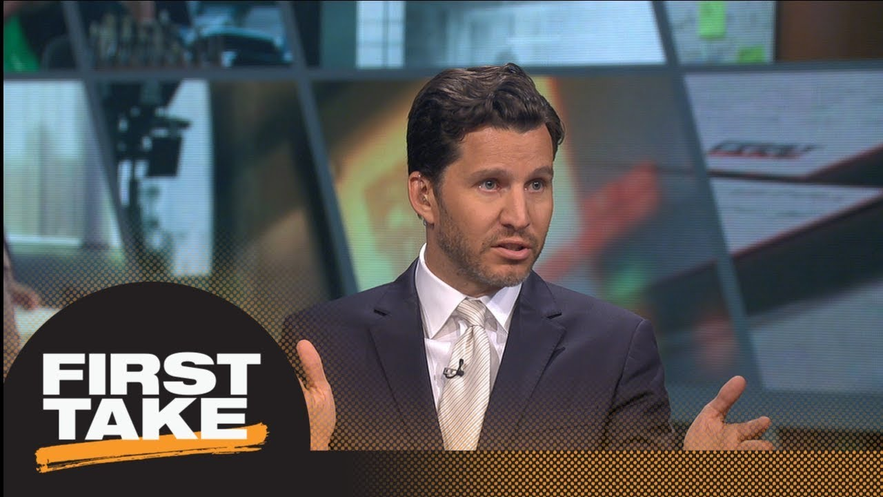 Will Cain: No way that LeBron James going to Lakers is a 'basketball decision' | First Take | ESPN