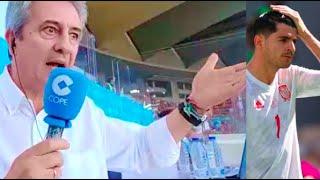 Morata va a chutar el penalti... y ¡lo falla! | Así lo narró Manolo Lama