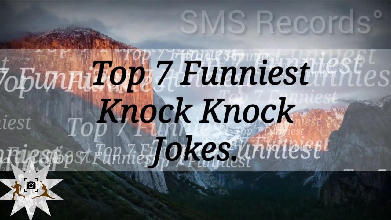 Top 7 Funniest Knock Knock Jokes