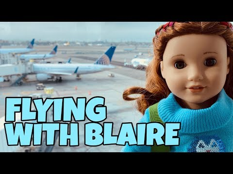 Flying With My American Girl Doll