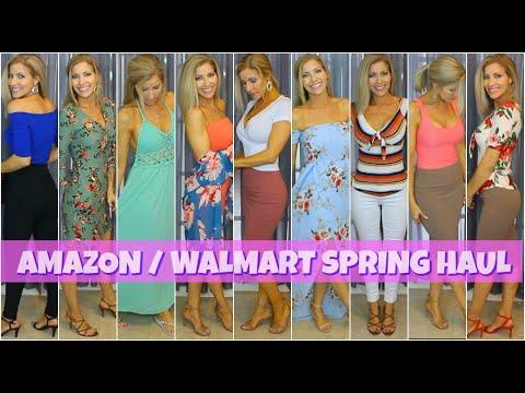 Amazon Spring Haul ~ Walmart Spring Haul ~ Affordable Spring Fashion - Spring Lookbook 2019