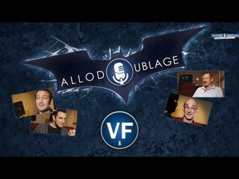Vidéo Batman - The Dark Knight Rises : les voix françaises
