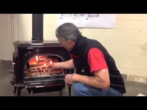 How to light your Jotul wood stove - How To Light Your Jotul Wood Stove - YouTube