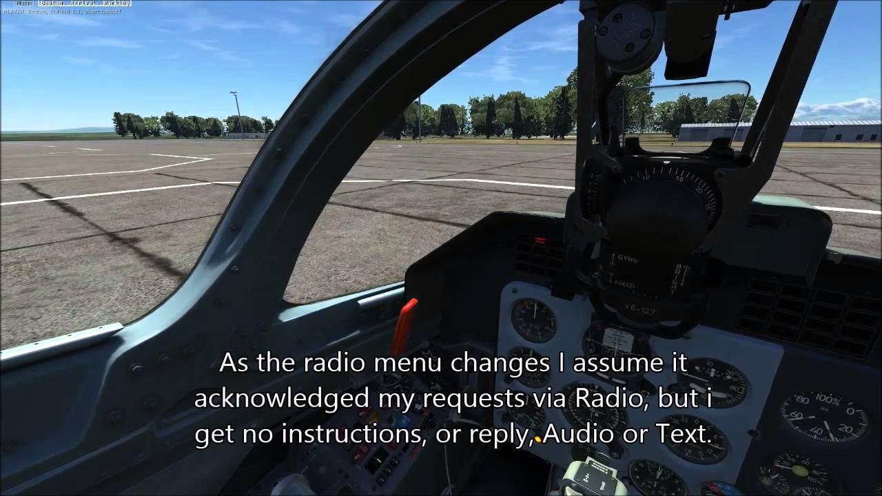 DCS world 1 5 2 - L-39C Radio ATC no response issue (Steam version)