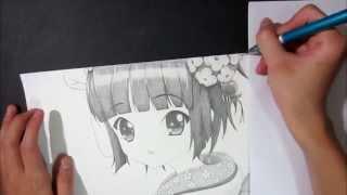 Ikoku Meiro no Croisée - 異国迷路のクロワーゼ -Yune drawing 異国迷路のクロワーゼ 検索動画 45