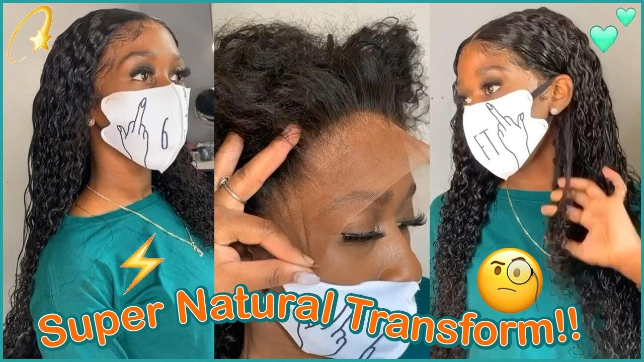 *FINALLY*🌌 Flawless  Lace Wig Install #Elfinhair Review For 100% Human Hair Deep Wave Wig