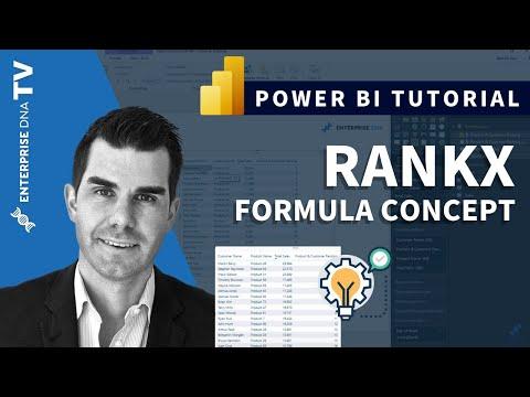 RANKX Considerations - Power BI & DAX Formula Concepts - YouTube