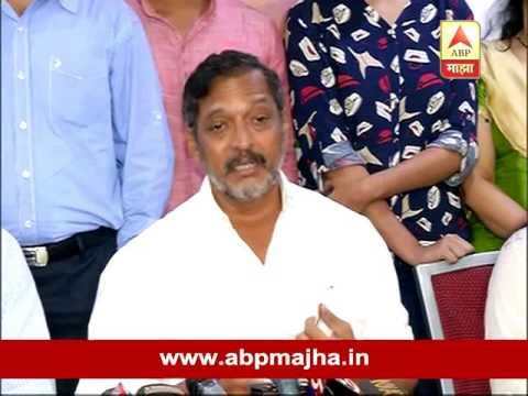 Pune : Nana Patekar on Money for dahihandi by artists