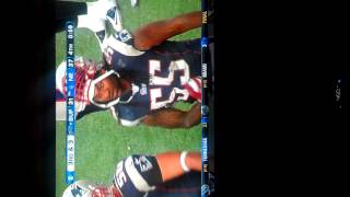Patriots LB Brandon Spikes Taunts After Big Hit