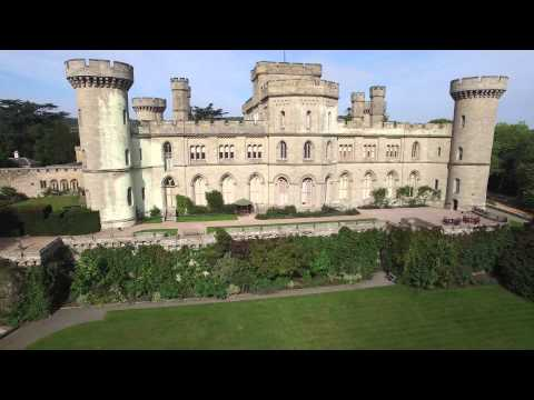 Eastnor Castle Video (4k) - A View From A Drone