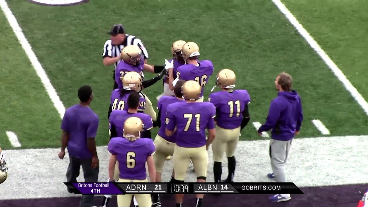 2017 Football Preview Albion College Athletics