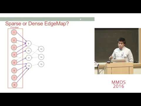 A Framework for Processing Large Graphs in Shared Memory, Julian Shun