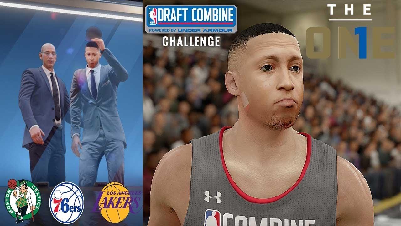 NBA Draft 2018 & Draft Combine! Did I Go #1? | NBA Live 18 ...