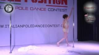 Monica Bertarello italian pole dance contest 2017 - 15 APRILE