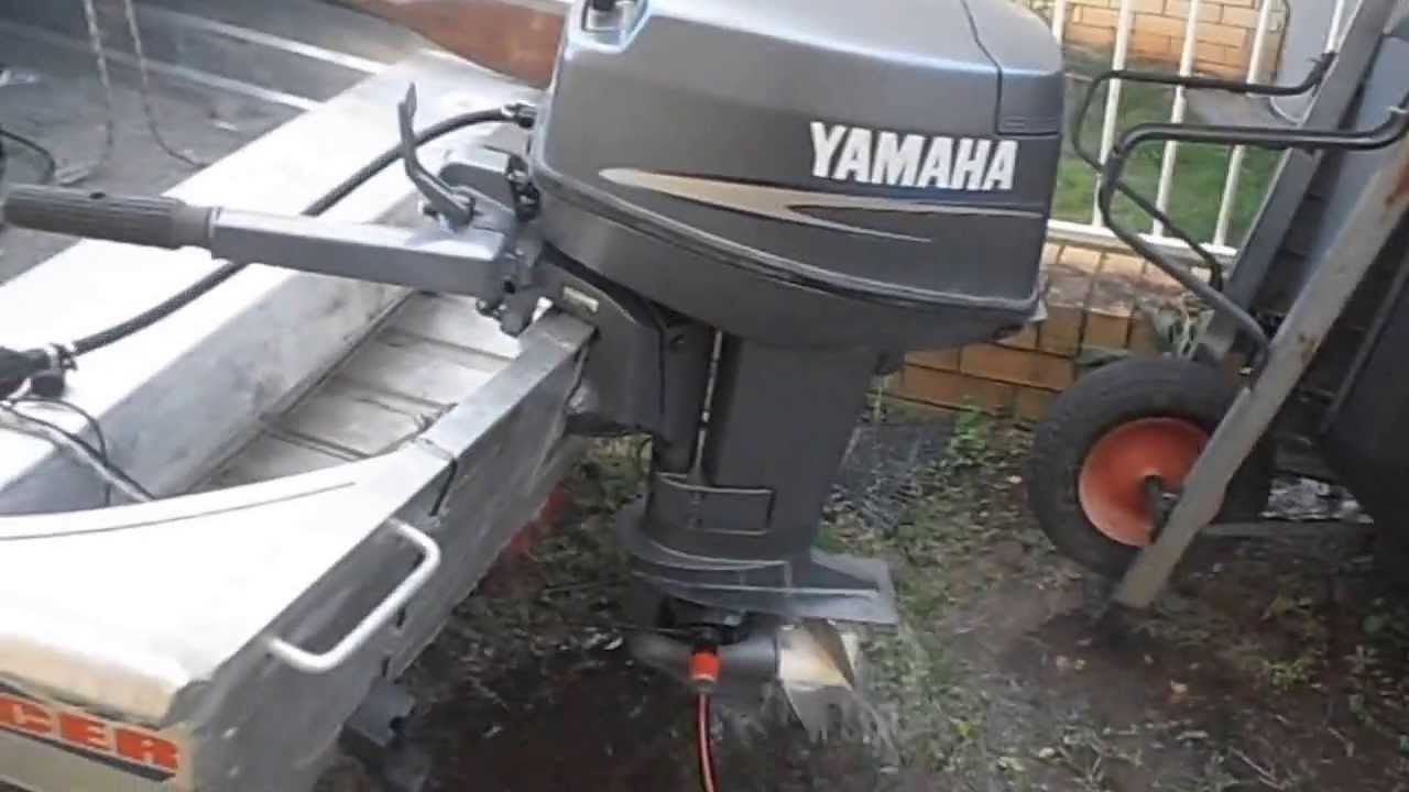 25 hp Yamaha Outboard 2006 25nmh Japan Model