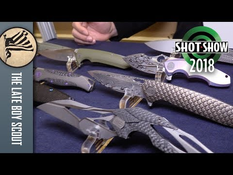 WE Knives: Amazing Blades from China - SHOT Show 2018