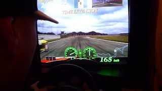 F355 Challenge 2 International Course Edition Gameplay Suzuka Japan (Arcade Naomi hardware)