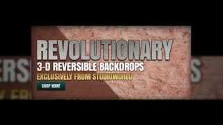 StudioWorld Backdrops | 3D Reversible Backdrops Product Video | Photography and Studio Backdrops