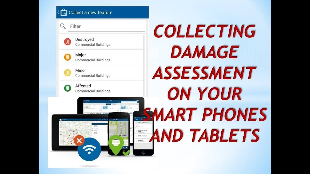 Create & Collect Damage Assessment easy using ArcGIS Online
