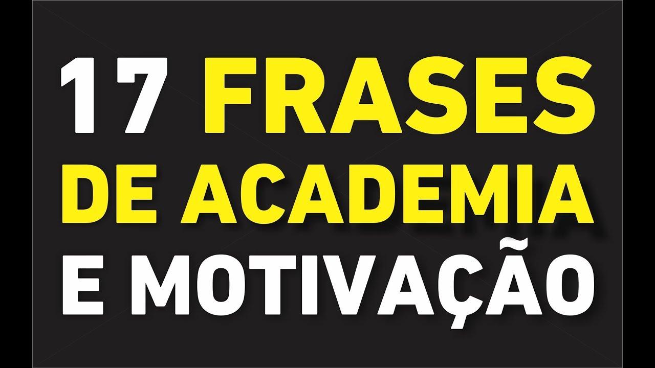 17 Frases De Academia E Musculação Para Motivação