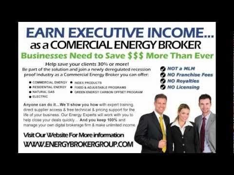 Earn Executive Income...as a INDEPENDENT COMMERCIAL ENERGY SALES BROKER