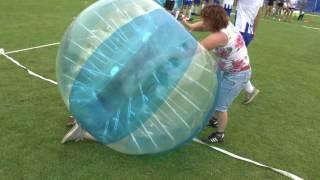 Achlum Baukje fest yn de bubbleball