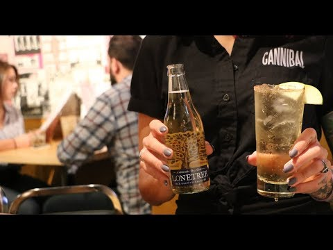 Apple Pie Cocktail | Lonetree Cider X Cannibal Cafe