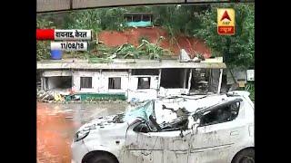 Kerala Flood: Landslide in Wayanad destroys houses and shops