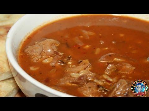 Красный Суп Харчо с Бараниной