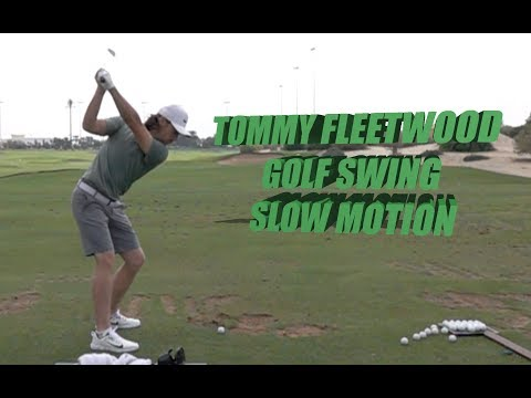 TOMMY FLEETWOOD - SLOW MOTION GOLF SWING