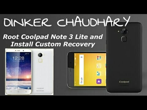How to flash twrp recovery in coolpad note 3 lite without pc