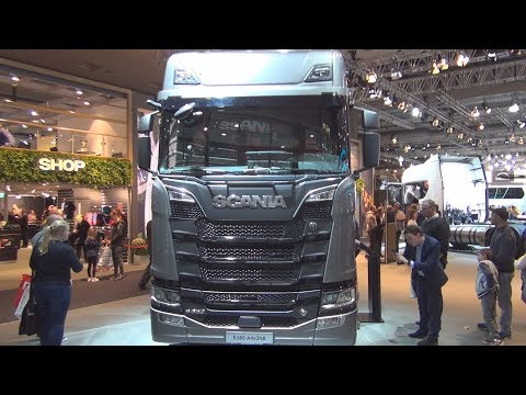 Scania S 650 A4x2 Tractor Truck (2019) Exterior and Interior